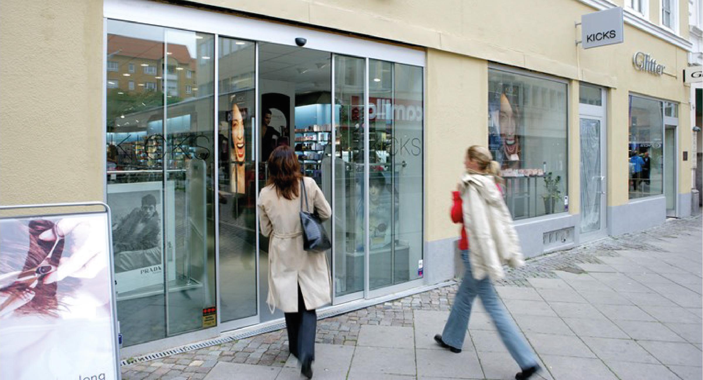 Puertas Automáticas para Centro Comerciales, Locales y Negocios