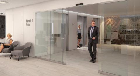 Puerta Automática en Empresa o Edificio