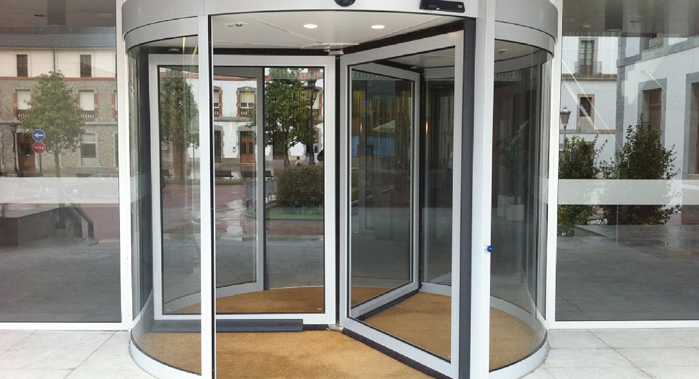 puertas giratorias en guadalajara instalaci n y mantenimiento