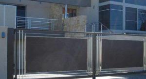 Portón Eléctrico en Guadalajara con Herrería
