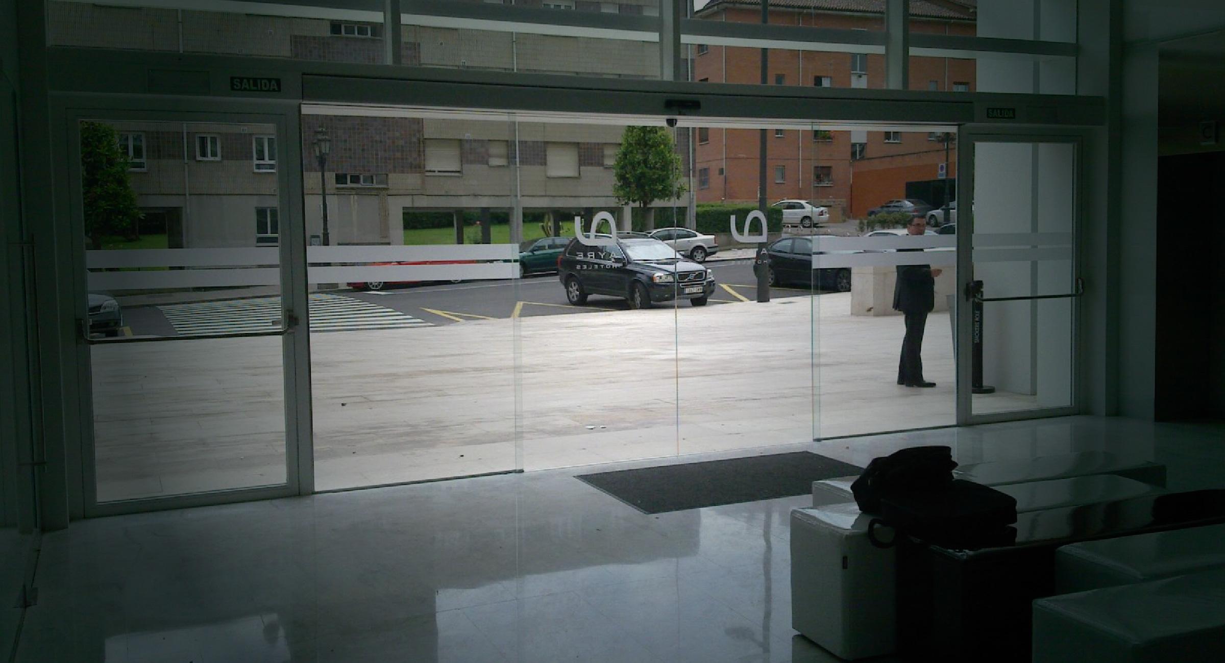 Puertas Automaticas de Cristal en Guadalajara